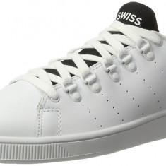 Adidasi K-Swiss Men's Lozan Sport Low-Top Sneakers marimea 41, 42 si 43 - Adidasi barbati K-Swiss, Culoare: Alb, Piele naturala