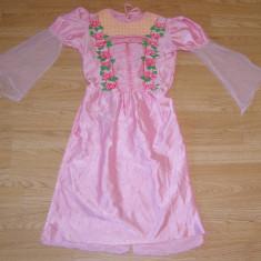 Costum carnaval serbare printesa barbie pentru copii de 7-8 ani - Costum Halloween, Marime: Masura unica, Culoare: Din imagine