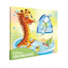Tablou fosforescent Girafa