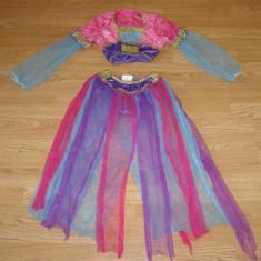 Costum carnaval serbare jasmine pentru copii de 4-5-6 ani - Costum Halloween, Marime: Masura unica, Culoare: Din imagine