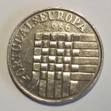 P2. PORTUGALIA 25 ESCUDOS 1986 Admission to European Common Market KM#635 **, Europa