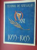 Teatrul de Stat din Galati 1955-1965