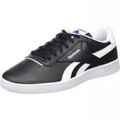 Adidasi Reebok Men's Royal Slam Low-Top Sneakers marimea 42.5 - Adidasi barbati Reebok, Culoare: Negru