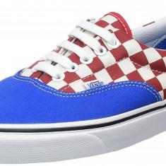 Tenesi Vans Men's Ua Era Low-Top Sneakers marimea 41, 42 si 42.5 - Tenisi barbati Vans, Culoare: Albastru, Textil