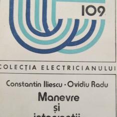 Manevre si interventii la instalatii electrice (109) -Constantin Iliescu, ... - Carti Energetica