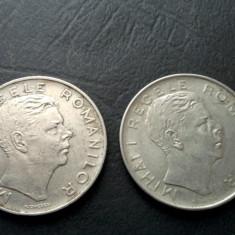 Monede 100 lei 1943, eroare batere: lacrima, riduri - Moneda Romania