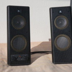 Boxe active stereo Logitech de calculator - Boxe PC
