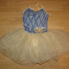 Costum carnaval serbare rochie dans balet pentru copii de 7-8 ani - Costum dans, Marime: Masura unica, Culoare: Din imagine