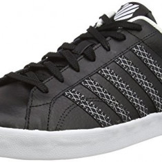 Adidasi K-Swiss Men's Belmont So Low-Top Sneakers marimea 41 - Adidasi barbati K-Swiss, Culoare: Negru, Piele naturala