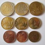 Lot 9 monede Malta, Europa, Cupru-Nichel