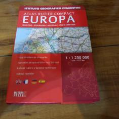 Atlas rutier compact-Europa