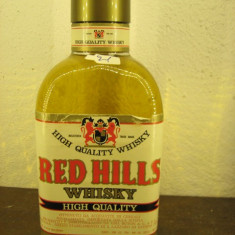 Whisky n. 21 -RED HILLS,  WHISKY HIGH QUALITY,  cl 75 gr 43 ANI 60/70