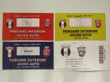 Bilet meci fotbal + 3 tichete Parking ASTRA GIURGIU-FC BOTOSANI (06.03.2017)