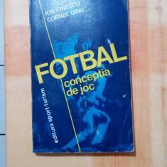 CARTE FOTBAL  CONCEPTIA DE JOC ION IONESCU - CORNEL DINU