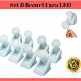 Set 8 Becuri LED  Fara Fir Handy Bulb Fara Fir Cu Intrerupator