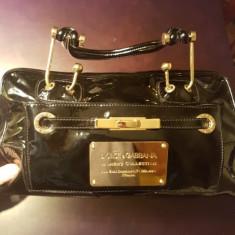 Geanta Dolce and Gabbana noua din lac negru - Geanta Dama Dolce & Gabbana, Marime: Medie