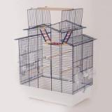 Colivie papagali IZA III - COBALT - 58,5 x 38,5 x 65 cm