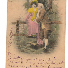 CPI B 10296 CARTE POSTALA - CRAIOVA, 1904, Circulata, Fotografie