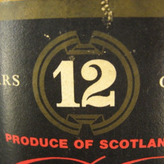 Whisky nr. 4 - BB- YEAR 12 OLD, SCOTCH  WHISKY cl 75 gr 40 ANI 60/70