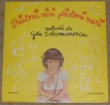 Vinyl/vinil Gelu Solomonescu – Prieteni Mici, Prieteni Mari(cantece pt copii)