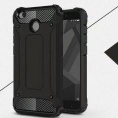 Husa silicon + carcasa + folie protectie ecran telefon Xiaomi Redmi 4X, Universala