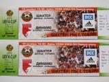 Bilet meci fotbal SAHTIOR DONETK - DINAMO BUCURESTI (UEFA CUP 2003-2004)
