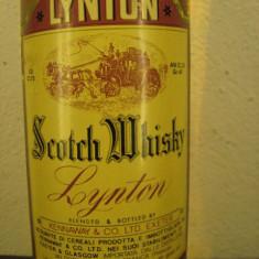 Whisky nr. 7 - LYNTON, SCOTCH  WHISKY cl 75 gr 40 ANI 50/60