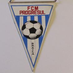Fanion fotbal FCM Progresul Braila
