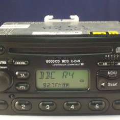 CD 6000 RDS - Ford - CD Player MP3 auto Sony