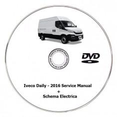 Iveco Daily - 2016 Service Manual + Schema Electrica - Manual auto