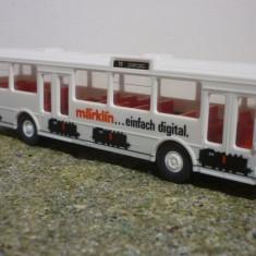 Autobuz, autocar, Mercedes O 305, Marklin scara 1/87, Wiking, 1:87