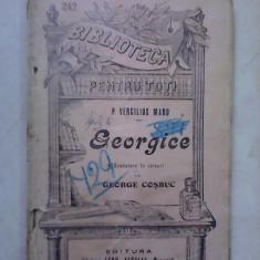 BPT nr 242, Georgice - VERGILIUS MARO - Carte veche