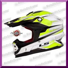 CASCA ENDURO LS2 MX456 FACTORY - Casca moto LS2, Marime: M, L