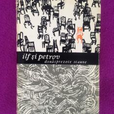 Ilf si Petrov/Douasprezece scaune/roman satiric/1965