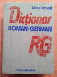 Dictionar Roman - German. Editura Stiintifica, 1990 - Mihai Anutei
