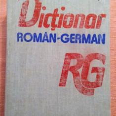 Dictionar Roman - German. Editura Stiintifica, 1990 - Mihai Anutei