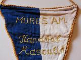Fanion (brodat-vechi 1964) Handbal MURES AM (SPARTACHIADA Republicana)