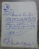 Act olograf privind publicarea unui extract in Monitorul Oficial/ 1925