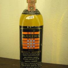 Whisky n. 14 - BAKERS, 100% SCOTCH WHISKY,  cl 75 gr 40 ANI 60/70