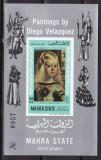 Aden  -  Mahra  1968  pictura  Velasquez   MI  bl.10B   MNH  w49, Nestampilat