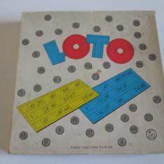 Joc romanesc Loto din anii 60