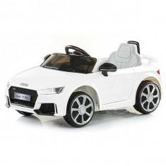 Masinuta electrica Chipolino Audi TT RS White - Masinuta electrica copii