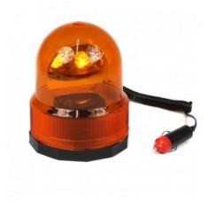 Girofar borcan cu magnet 12V portocaliu AL-TCT-2149