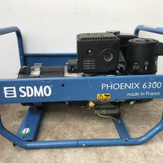 Generator de Curent SDMO Phoenix 6300 Fabricație 2015