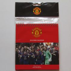 Calendar cu file 2018 (birou) fotbal - MANCHESTER UNITED