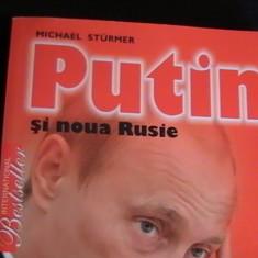 PUTIN SI NOUA RUSIE-MICHEL STURMER-260 PG- - Carte Politica
