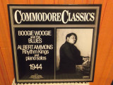 -Y- COMMODORE CLASSICS - BOOGIE WOOGIE AND THE BLUES  - ALBERT AMMONS, VINIL
