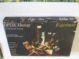 Joc Optik Montage Experiment cu instructiuni de montaj si utilizare din anii 80