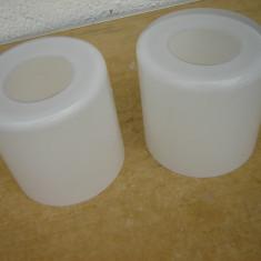 2 abajururi din opalina - Corp de iluminat, Suspensii