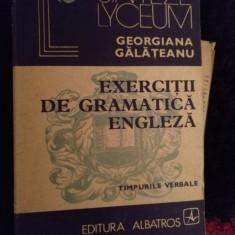 Exercitii de gramatica engleza de georgiana galateanu Ra